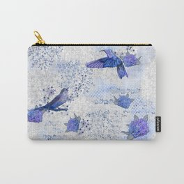 Chinoiserie blue Carry-All Pouch