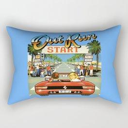 Outrun Rectangular Pillow