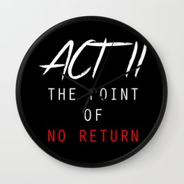 ACT II Wall Clock