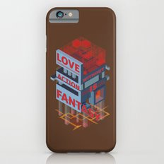 Love without Action Is Fantasy iPhone 6s Slim Case