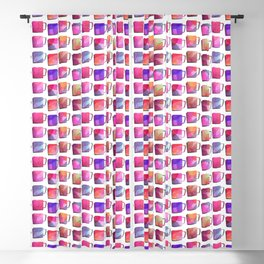 Coffee Mugs - Pink Colors Blackout Curtain