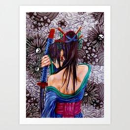 Samuria Art Print