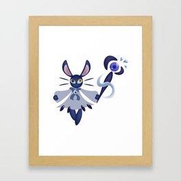 Rabbit Water Mage Framed Art Print