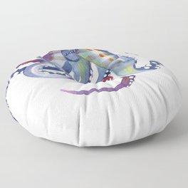 Sea Monster Floor Pillow