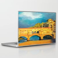 florence Laptop & iPad Skins featuring Florence by Sara Clarke