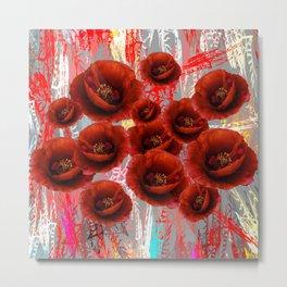 Flower carpet(44) Metal Print