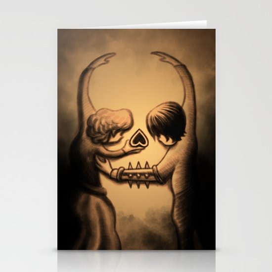Dance of Death Stationery Cards