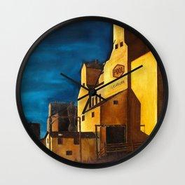 Saskatchewan Wall Clock