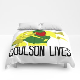 Agent Coulson, My One Good Eye. Comforters