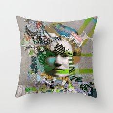 Hoodoo Heroine Throw Pillow