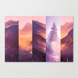 Fraction Canvas Print