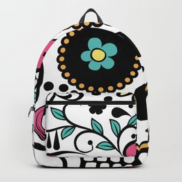 Sugar Skull Mexican Backpack