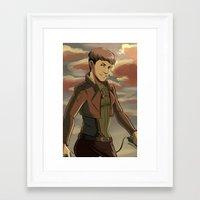 cassandra jean Framed Art Prints featuring Jean by Marco