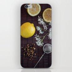 Lemon and tea iPhone & iPod Skin