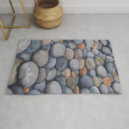 Watercolour relaxation Rug