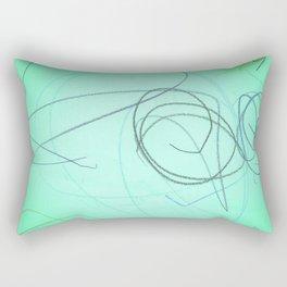 Nourishing Colored Pencils Rectangular Pillow