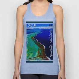 Landscapes and Animals of New Caledonia 1 Unisex Tank Top