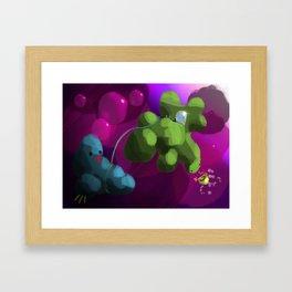 Lost Pet Framed Art Print