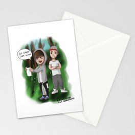 Lilo writing sessions Stationery Cards