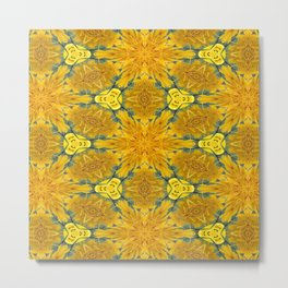 Yellow Sunflowers on a Sunny Day Metal Print