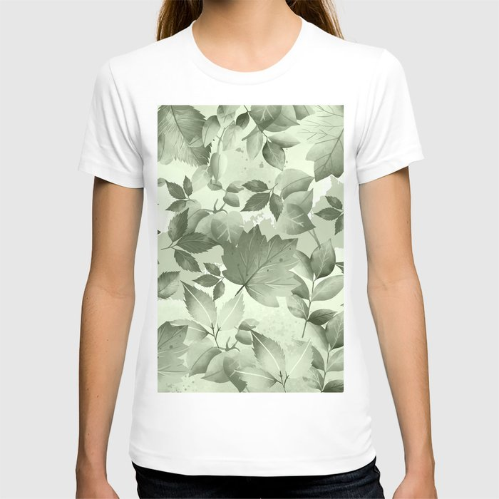 Watercolor Autumn Leaves 3 T-shirt