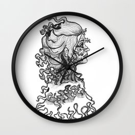Fantasma Viejo Wall Clock