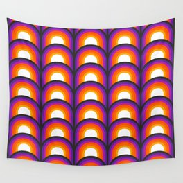 Arches - Pinball Wall Tapestry