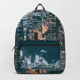 Toronto by night - City at night Backpack