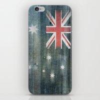 australia iPhone & iPod Skins featuring Australia by Arken25