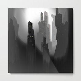 jungian city Metal Print