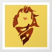 simba Art Prints featuring Simba by pokegirl93