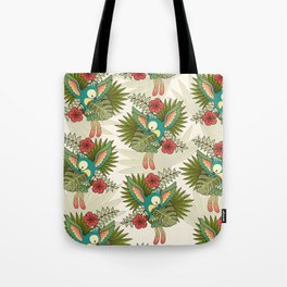 cute parrot Tote Bag