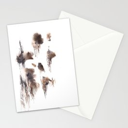 The Shadow Moon - 151124  Abstract Watercolour Stationery Cards