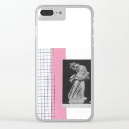 A vacation in rome Clear iPhone Case