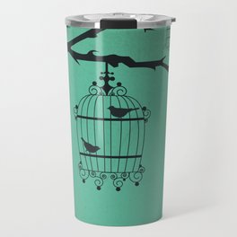 Bird Cages Travel Mug