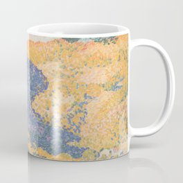 Valley with Fir (Shade on the Mountain) by Henri-Edmond Cross1909, French Coffee Mug