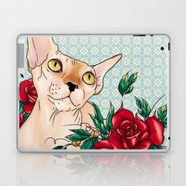 Ramona in flowers Laptop & iPad Skin