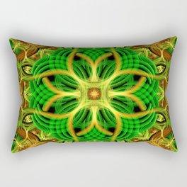 Forest Heart Mandala Rectangular Pillow