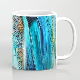 Doodle in blue Coffee Mug