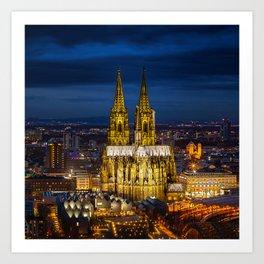 Cologne_20180801_by_JAMFoto Art Print