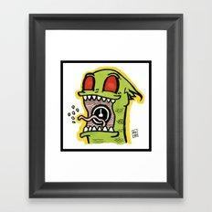 Kid Komodo Framed Art Print