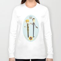 battlestar Long Sleeve T-shirts featuring Battlestar couple by Annalisa Leoni