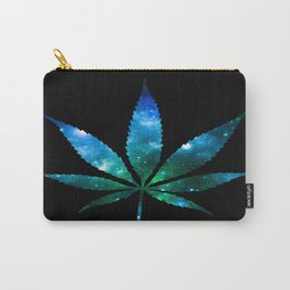 Weed : High Times Blue Green Galaxy Carry-All Pouch