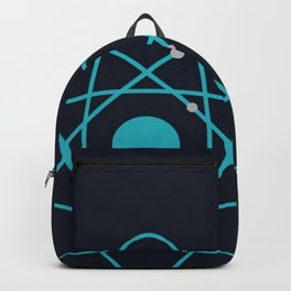 Atom, Molecules, DNA, Science decor, science class Backpack