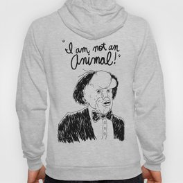 I am not an animal Hoody