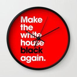 Make America Great Again (Red) Wall Clock