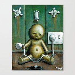 Tyranny Of Self Punishment Canvas Print