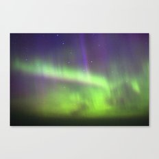 Dancing Lights Canvas Print