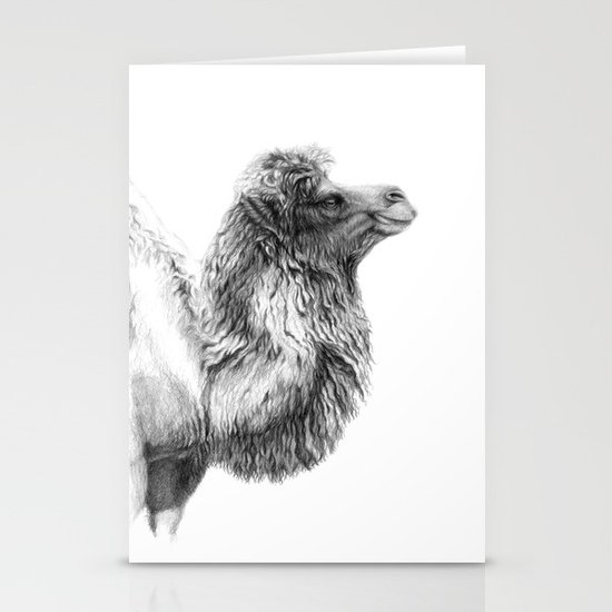 Bactrian Camel G079 Stationery Cards