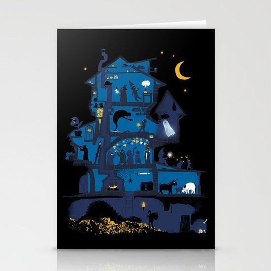 Wizard's Castle Stationery Cards